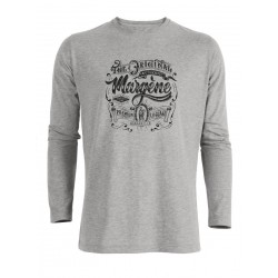 T-SHIRT MANCHES COURTES HOMME GRIS LOGO THE ORIGINAL