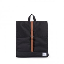 HERSCHEL CITY MID VOLUME BLACK TAN