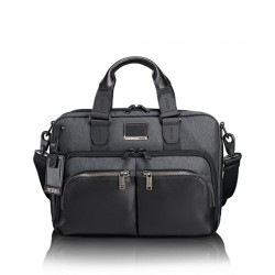 ALPHA BRAVO ALBANY SLIM PORTE DOCUMENT ANTHRACITE