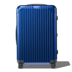 RIMOWA ESSENTIAL LITE CHECK M 823.63.60.4 CABIN MULTIWHEEL BLUE GLOSS