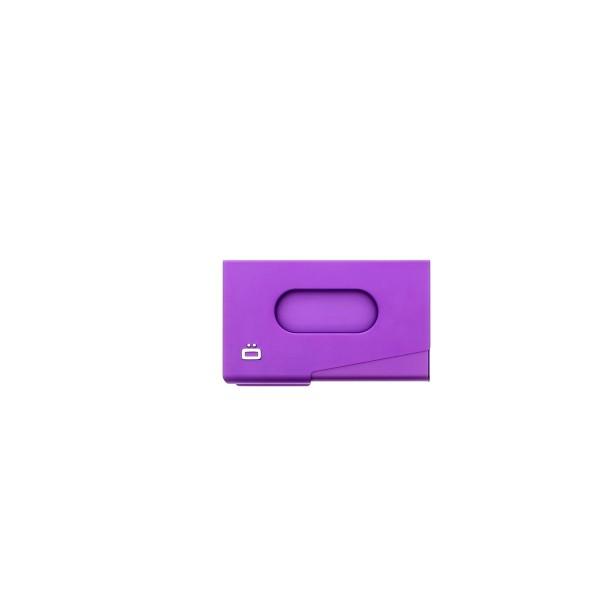 gon Porte-cartes de visite en aluminium One Touch Violet MeCd2lmY38
